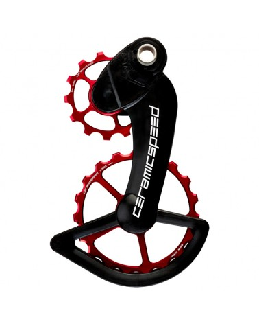 CeramicSpeed 104061 Pulley OSPW Campagnolo 11s Mechanical/EPS Red
