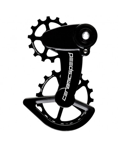 CeramicSpeed 106351 Pulley OSPW X Sram Force1/Rival1 T3 Clutch Black