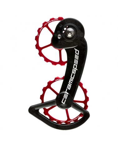 CeramicSpeed 101665 Pulley OSPW Sram 10+11s Mechanical Red Coated