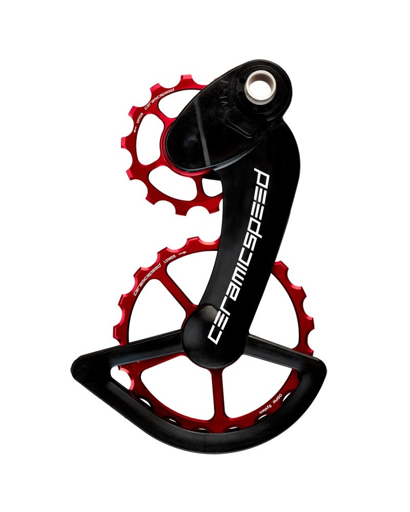 CeramicSpeed 107429 Pulley OSPW Campagnolo 12s EPS Red Coated