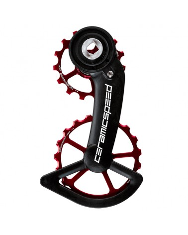 CeramicSpeed 107381 Pulley OSPW Sram Red/Force AXS Alt Red Coated