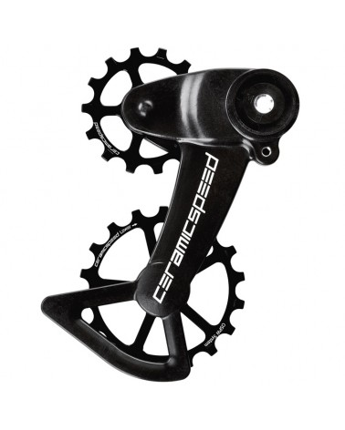CeramicSpeed 107004 Pulley OSPW X Sram Eagle AXS Black Coated