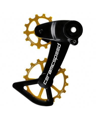 CeramicSpeed 107005 Pulley OSPW X Sram Eagle AXS Gold Coated