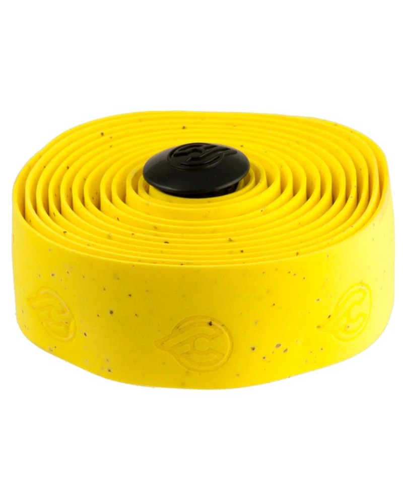 Cinelli Gel Cork Handlebar Tape, Yellow