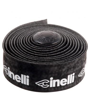 Cinelli Velvet Logo Handlebar Tape, Black