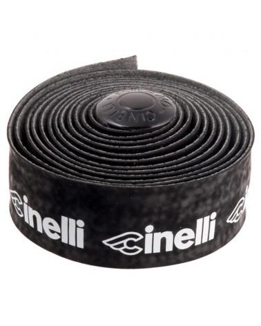Cinelli Velvet Logo Nastro Manubrio, Nero