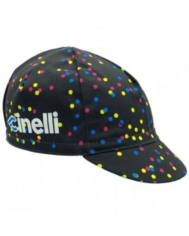 Cinelli Caleido Dots Cappellino Ciclismo (Taglia Unica)