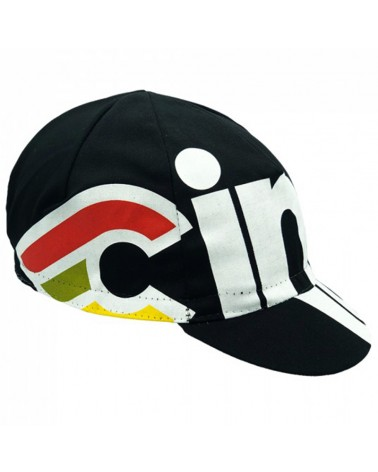 Cinelli Nemo Tig Black Dog Cycling Cap, Black (One Size Fits All)