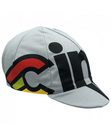 Cinelli Nemo Tig Silver Bullet Cycling Cap, Silver (One Size Fits All)