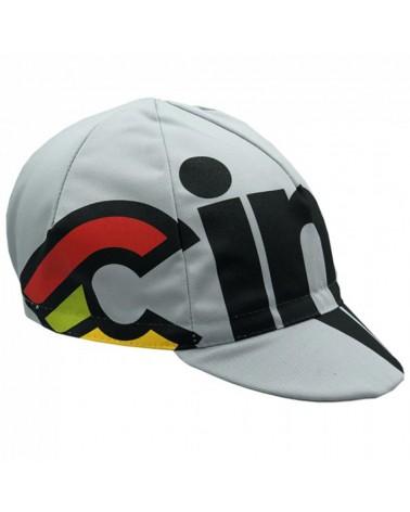 Cinelli Nemo Tig Silver Bullet Cappellino Ciclismo, Grigio (Taglia Unica)