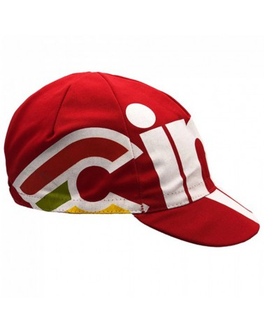 Cinelli Nemo Tig Cycling Cap, Cherry Bomb Red (One Size Fits All)
