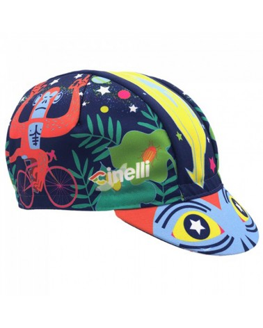 Cinelli Jungle Zen Cappellino Ciclismo (Taglia Unica)
