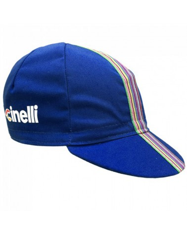 Cinelli Ciao Cycling Cap, Blue (One Size Fits All)