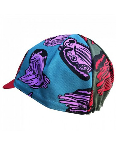Cinelli Stevie Gee Melt Faces Cycling Cap (One Size Fits All)
