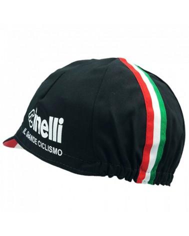 Cinelli Il Grande Ciclismo Cappellino Ciclismo, Nero Ita (Taglia Unica)