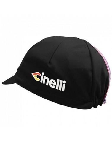 Cinelli Ciao Cappellino Ciclismo, Nero (Taglia Unica)