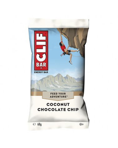 Clif Bar Energy Bar Coconut Chocolate Chip 68gr - Box 12 Bars