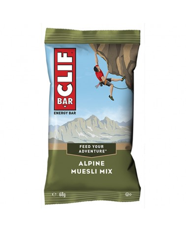 Clif Bar Energy Bar Alpine Muesli Mix 68gr - Box 12 Bars
