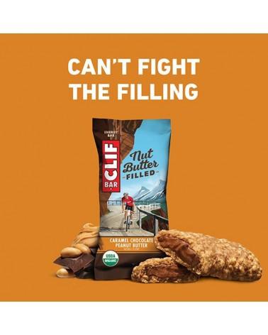 Clif Bar Energy Bar Nut Butter Filled Chocolate/Peanut Butter 50gr - Box 12 Bars