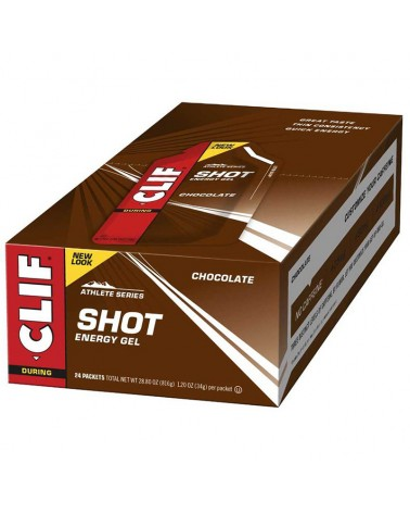 Clif Bar Shots Energy Gel 34gr Razz (Raspberry) - Box 24 pcs