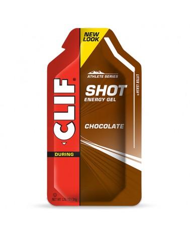 Clif Bar Shots Gel Energetico Gusto Cioccolato - Box 24 pz da 34 gr