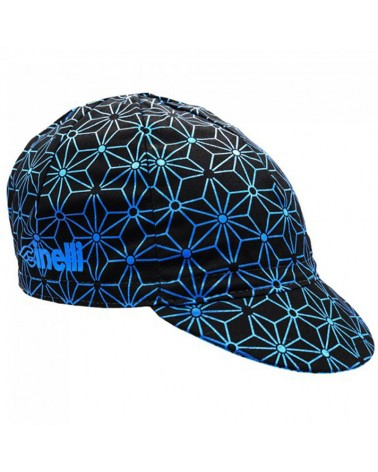 Cinelli Blue Ice Cycling Cap (One Size Fits All)