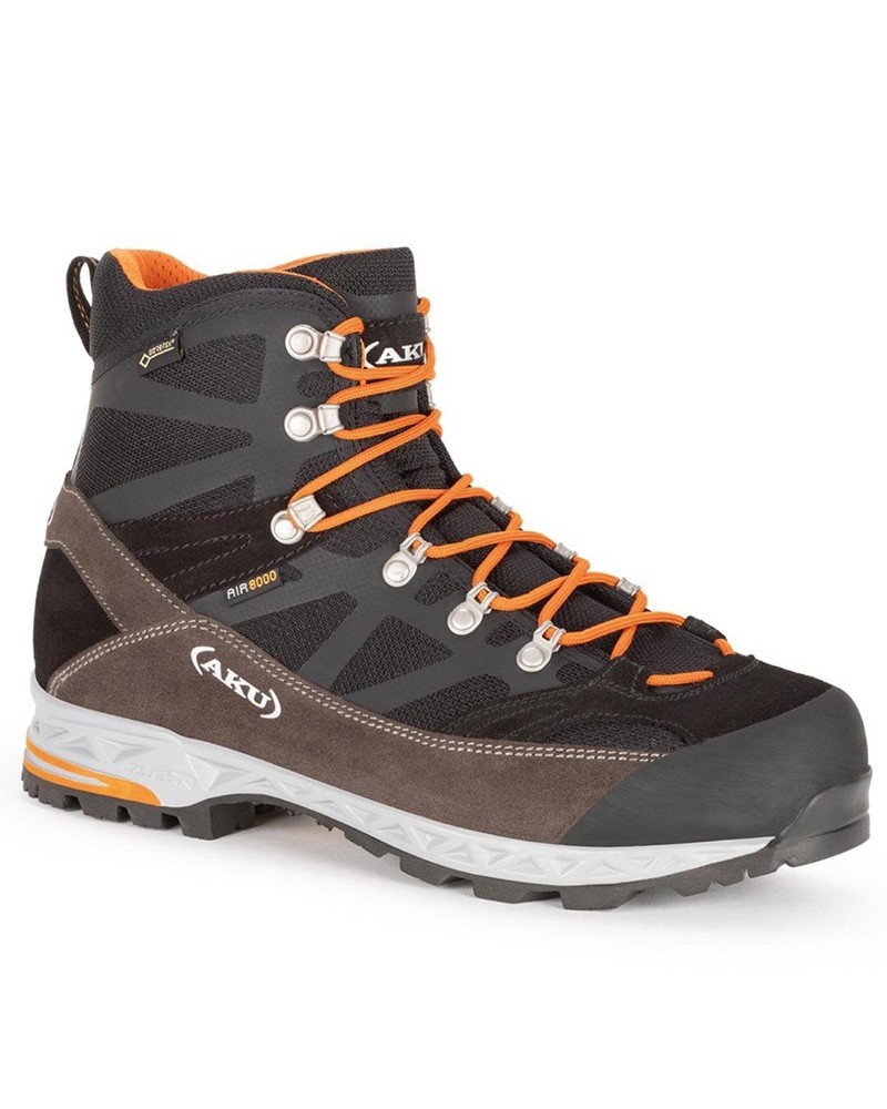 Aku Trekker Pro GTX Gore-Tex Men's Trekking Boots, Black/Orange