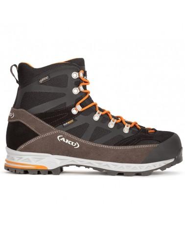 Aku Trekker Pro GTX Gore-Tex Men's Trekking Boots, Black/Orange