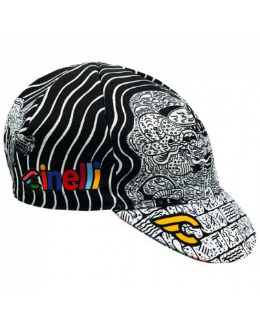 Cinelli Louie Cordero Lolobuko Cycling Cap (One Size Fits All)