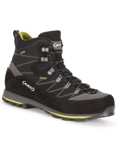 Aku Trekker Lite III GTX Gore-Tex Men's Trekking Boots, Black/Green