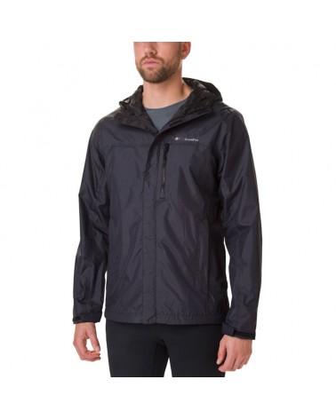 Columbia Pouring Adventure II Waterproof Men's Jacket, Black