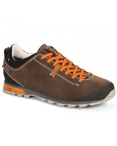 Aku Bellamont III Suede GTX Gore-Tex Men's Shoes, Beige/Orange