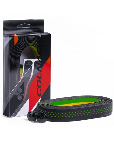 Colnago Nastro Manubrio Dot, Nero/Verde