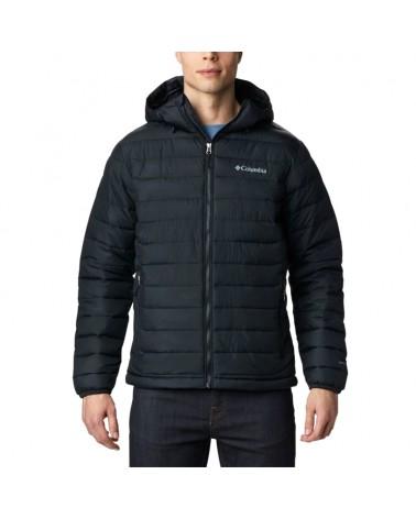Columbia Powder Lite Insulated Hooded Men's Jacket, Black