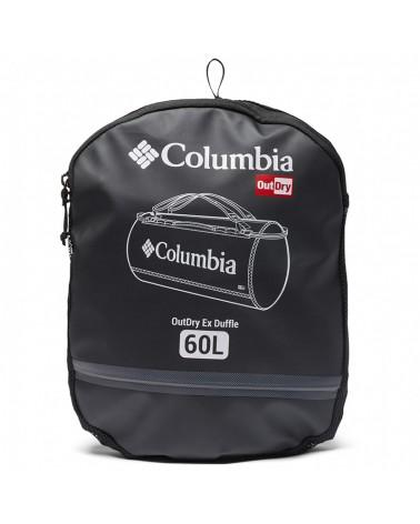 Columbia Outdry Ex Borsone 60 Litri Impermeabile, Black