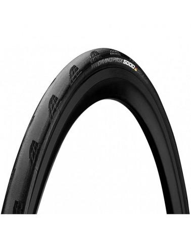 Continental Grand Prix 5000 700x25 Copertoncino Pieghevole, Black/Black Skin