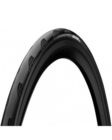 Continental Grand Prix 5000 700x28 Folding Tyre, Black/Black Skin