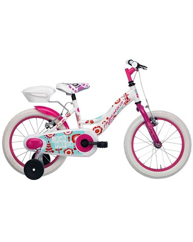 "Adriatica Junior Bike Girl 16"", White/Pink"