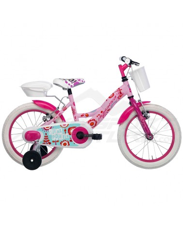 "Adriatica Junior Bike Girl 16"", Pink/White"