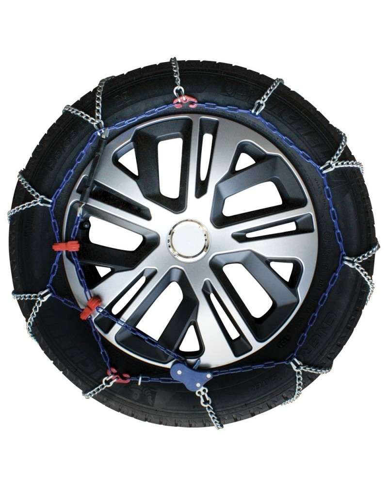 Catene da Neve Auto 185/80-14 R14 Ultrasottili da 7 mm (Omologate)