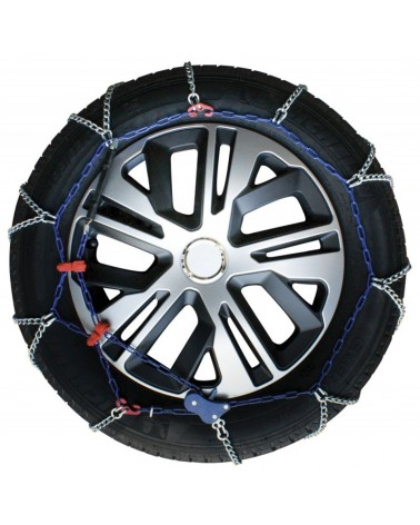 Snow Chains for Car Tyres 195/55-16 R16 Ultra Thin, 7 mm, Approved