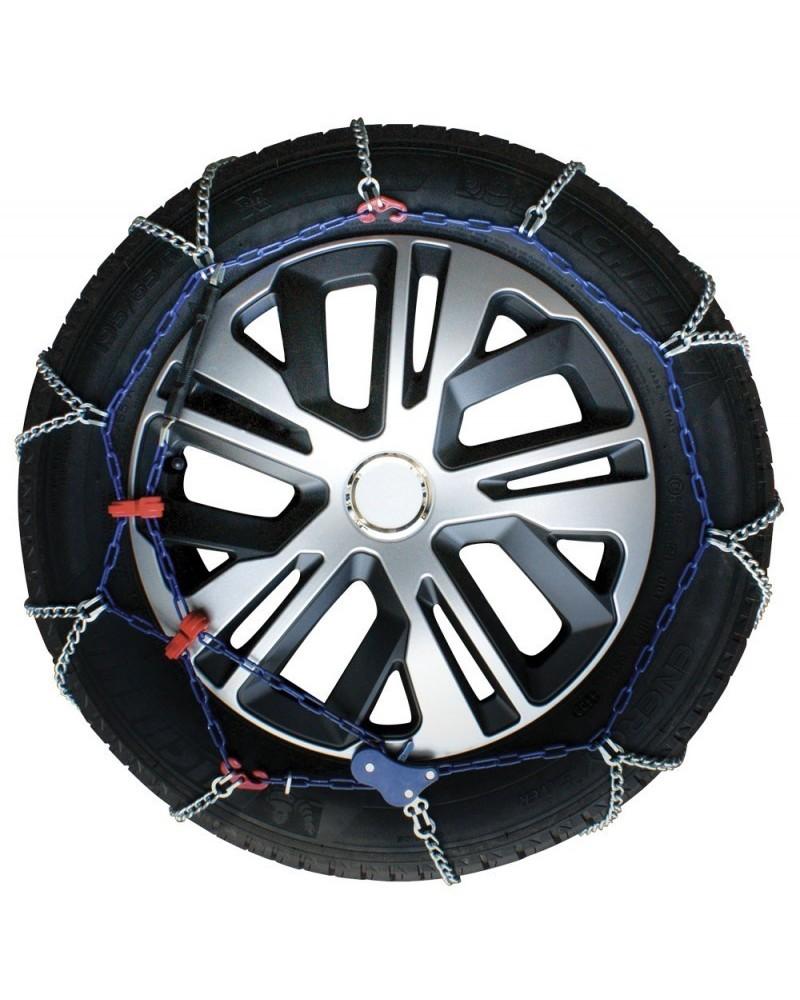 Catene da Neve Auto 195/65-14 R14 Ultrasottili da 7 mm (Omologate)