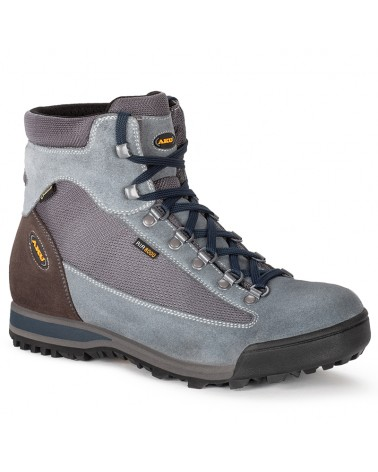 Aku Slope Micro GTX Gore-Tex Men's Trekking Boots, Grey/Dark Blue