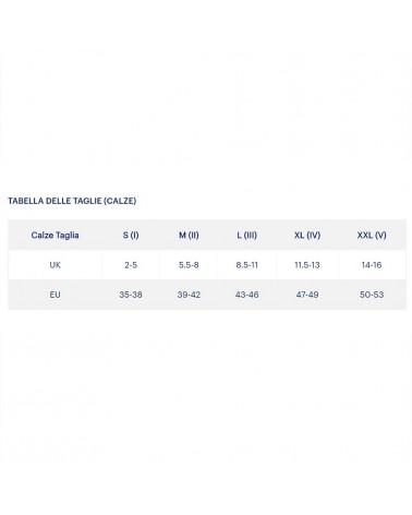 Asics Calze Nimbus ST Sock, Real White/Dark Grey (Unisex)
