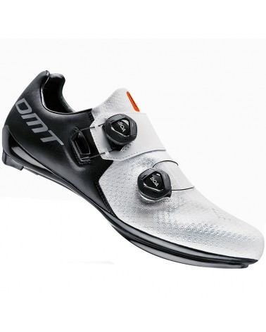 DMT SH1 Men's Road Cycling Shoes, Black/White
