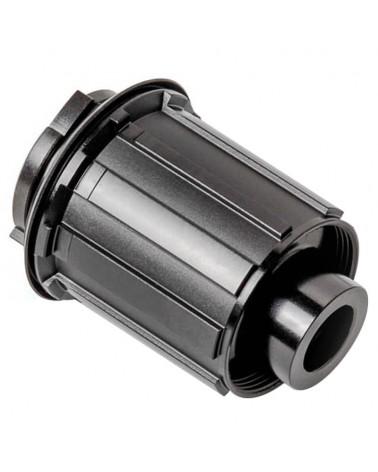 DT Swiss Free Hub Body Rotor Kit Shimano Alu/Steel 142/SA12/ 3 Pawls, Black