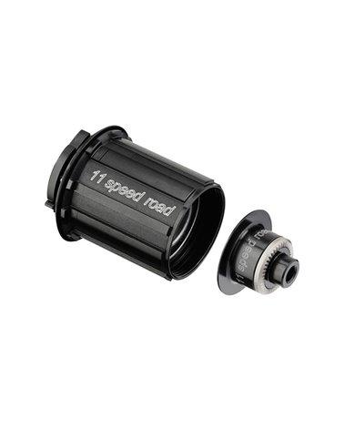 DT Swiss Free Hub Body Rotor Kit Shimano Road Alu/Steel 11sp 3 Pawls, Black