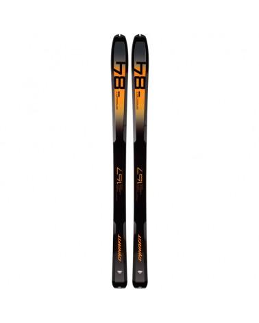 Dynafit Speedfit 84 Test Free Touring Ski, Dark Denim /Fluo Orange