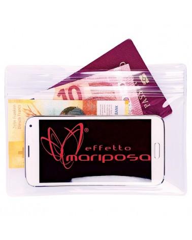 Effetto Mariposa Smartasca Medium Busta Impermeabile Porta Smartphone/Documenti