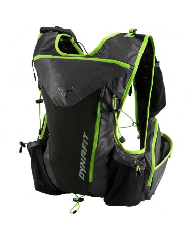 Dynafit Enduro 12 2.0 Running Backpack 12 Liters, Asphalt/Fluo Yellow